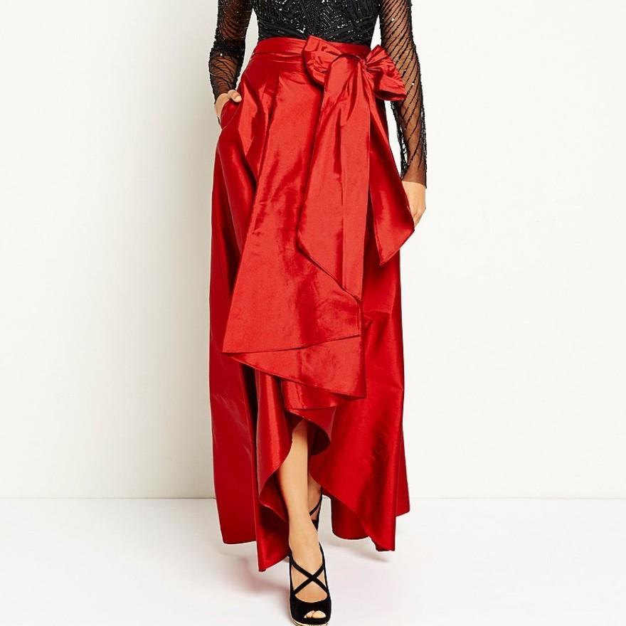57143ba230 2016 Inglaterra alta baja faldas largas para mujer azul marino viejo verde  negro Falda larga Mujer ropa plisada Maxi faldaUSD 35.88 piece