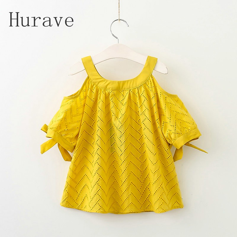 Hurave 2017 summer new children princess dresses ruffles kids clothes short sleeve cute baby girls dress for infant girl dress don freeman corduroy lost and found