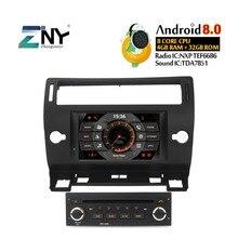 7 «Android 9,0 автомобильный стерео gps для Citroen C4 C-Triomphe C-Quatre 2004 2005 2006 2007 2008 2009 DVD радио Wi-Fi навигации Камера