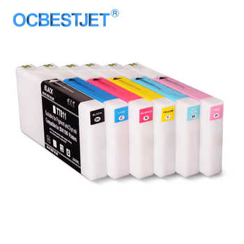 6Colors/Set T7811-T7816 Compatible Ink Cartridge Filled With Dye Ink For Fujifilm Frontier-S DX-100 Fuji DX100 Printer 200ML/PC - DISCOUNT ITEM  0% OFF All Category