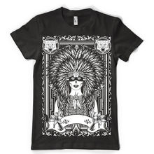 the virgin tribes indian ( white print ) mens tshirt tee dtgTop Tee 100% Cotton Humor Men Crewneck Tee Shirts Black Style