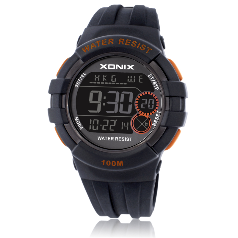 Boys Girls Sports Watches Waterproof 100m Multifunction World Time Led Light Swim Climb Outdoor Watch Children Wristwatch