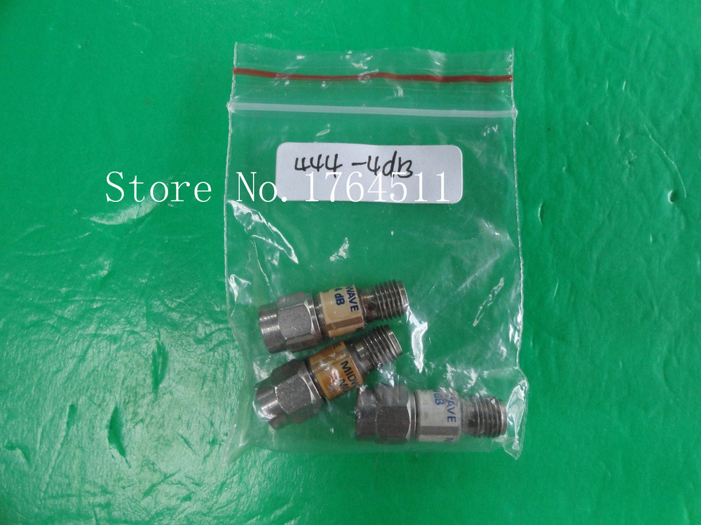 [BELLA] MIDWEST 444-4dB DC-18GHz 4dB 2W SMA Coaxial Fixed Attenuator  --2PCS/LOT
