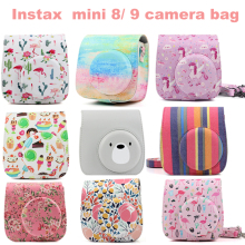 Fuji Fujifilm Instax Mini 9 Mini 8 Camera Bag PU Leather Ins