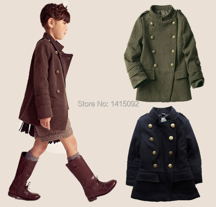 Popular Little Girls Trench Winter Coats-Buy Cheap Little Girls ...