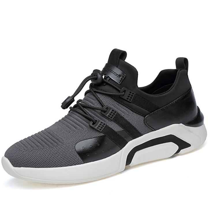2018 otoño zapatos de los hombres zapatos deportivos de moda masculina malla estudiantes jogging marea zapatillas