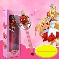 Nieuwe Meisje Speelgoed Anime Cosplay Sailor Moon Wand Muzikale Toverstaf muzikale Spiraal Hart Maan Staaf Henshin Staaf Glow Stok kinderen speelgoed