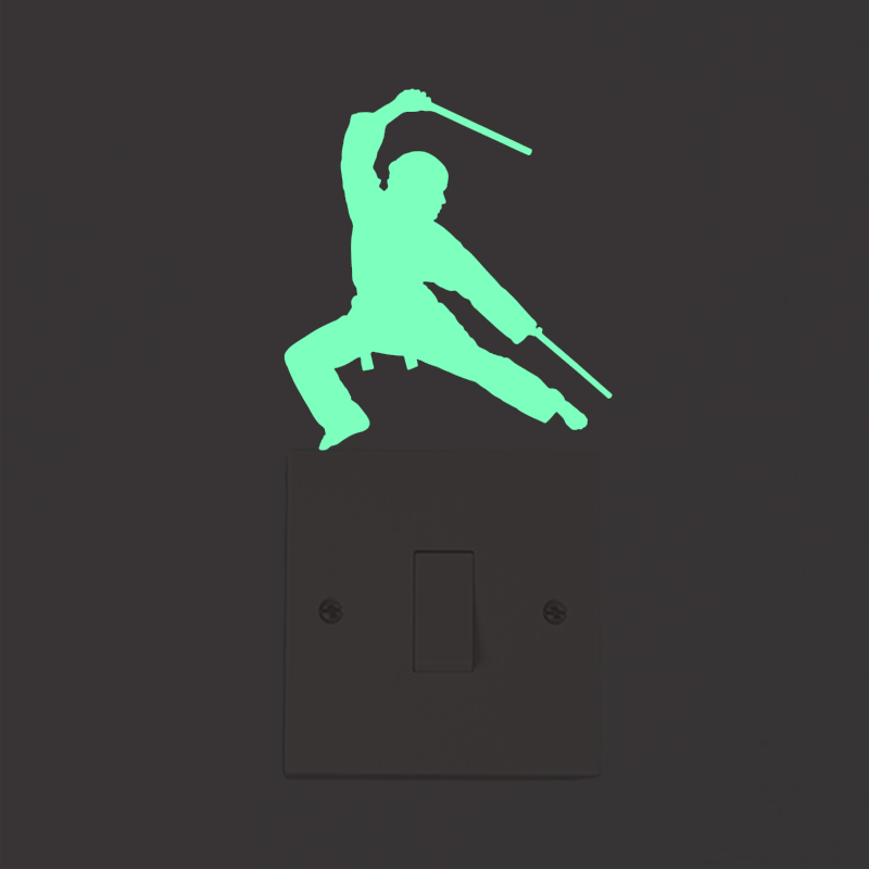 3D-wall-stickers-for-kids-room-Kungfu-Luminous-Switch-Sticker-glow-in-the-dark-star-wall(32)