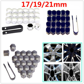 20Pcs Car Wheel Cap Auto Screw Cover Bolt nuts rim for Toyota 4Runner Sienna Sequoia Prius GR Camry i-TRIL COASTER highlander image