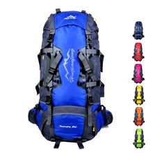 80L Large Capacity Professional Climbing Backpack Outdoor Hiking Travel Bag Camping rucksack sport backpacks