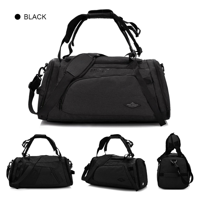 Multifunctional Sports Gym Bag Outdoor Bag with Shoes Compartment Travel  Duffel Bag Backpack for Men and dde9f0bd8bdcf