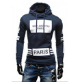 Men Hoody Sweatshirt Autumn Winter 2016 Casual Hooded Slim Fit Outwear Male Sweatsuit Mens Pullover  EU/US Style Clothes XYMY163