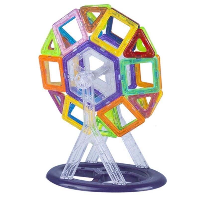 Toys & Hobbies ...  ... 32698319983 ... 4 ... Retail 1pcs Mini Magnetic Designer Toy Kids Educational Toys Plastic Creative Bricks Enlighten Magnetic Building Blocks ...