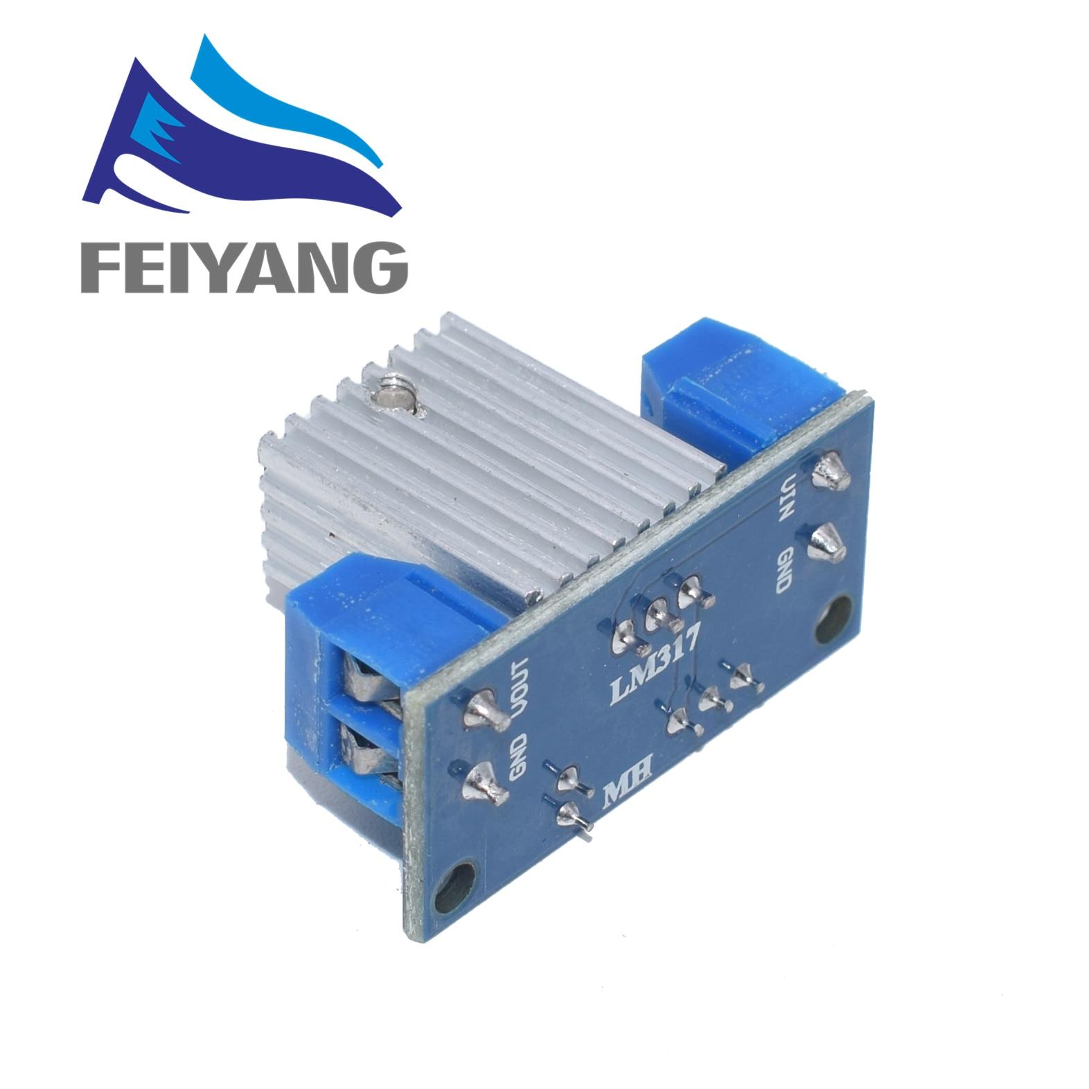 100PCS LM317 Adjustable Voltage Regulator Power Supply DC-DC Converter Buck Step Down Circuit Board Module Linear Regulator