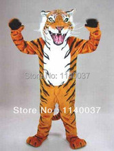 mascot Fierce Wild Tiger Mascot Costume Adult Size High-emulation Wild Fierce Tiger Mascotte Outfit Suit Fancy Dress