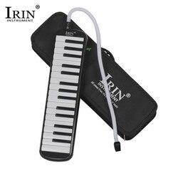 Irin 5 cores 32 teclas de piano teclado estilo melódico com armazenamento duro caso órgão acordeão crianças estudantes instrumento musical