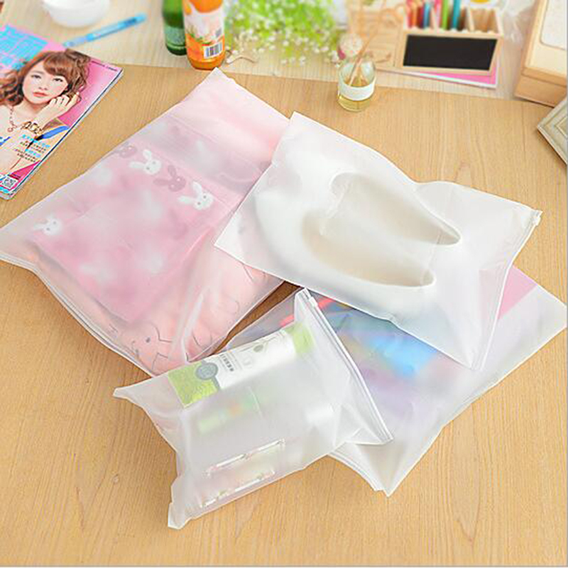 Travel Cosmetic Bag Transparent Make Up Bag Clothing Shoes Storage Bags Waterproof Closure Finishing Bag XXS-XXL