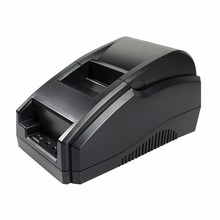 2017 new Wholesal Prime quality 58mm thermal printer receipt machine printing pace 90mm / s USB / Bluetooth interface