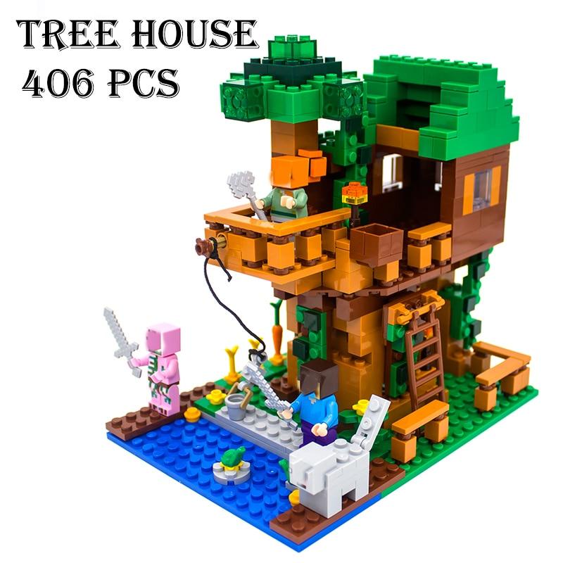 Model building kits compatible with lego 18009 my worlds - Modele construction maison lego ...