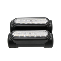 Black Motorcycle Highway Bar Switchback Driving Light for Crash Bars for /VCTORY turn signal light