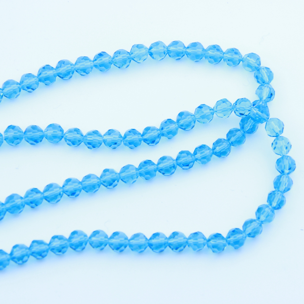 Fashion 100-1000pcs 12mm Hot Sale Aquamarine 32 Faceted Ball Beads Crystal Glass Fancy Jewelry Necklace Craft Curtain DIY