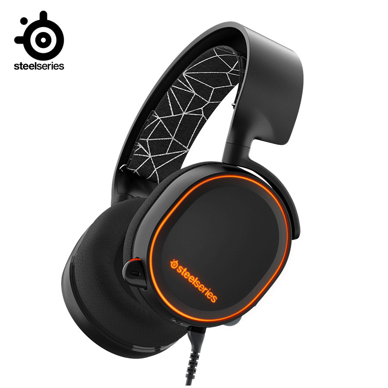Free shipping 2019 Edition SteelSeries Arctis 5 DTSXV2 0 RGB Headphones 7 1 Channel Jedi Survival Apex Heroes CF