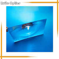 2 stücke 130x80mm Rechteck Optische PMMA Kunststoff Fresnel Objektiv Brennweite 100mm für Projektor Flugzeug Lupe, solar konzentrator