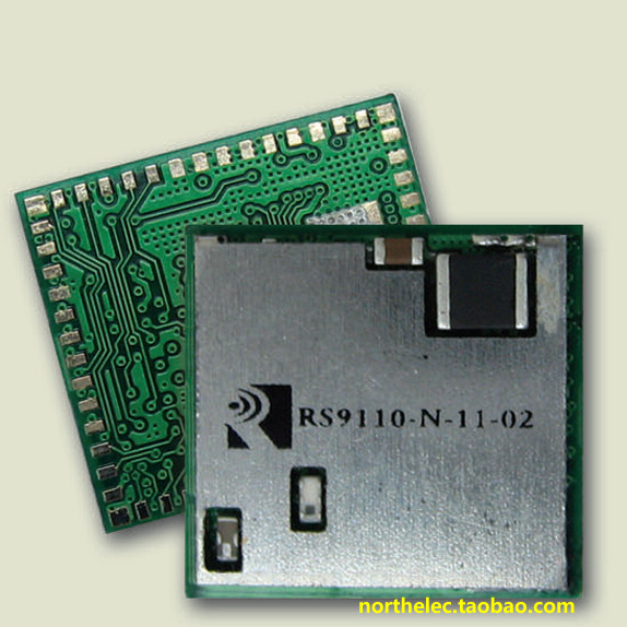 RS9110-N-11-02 SPI/SDIO Serial port can run Wince, Winxp, Linux system