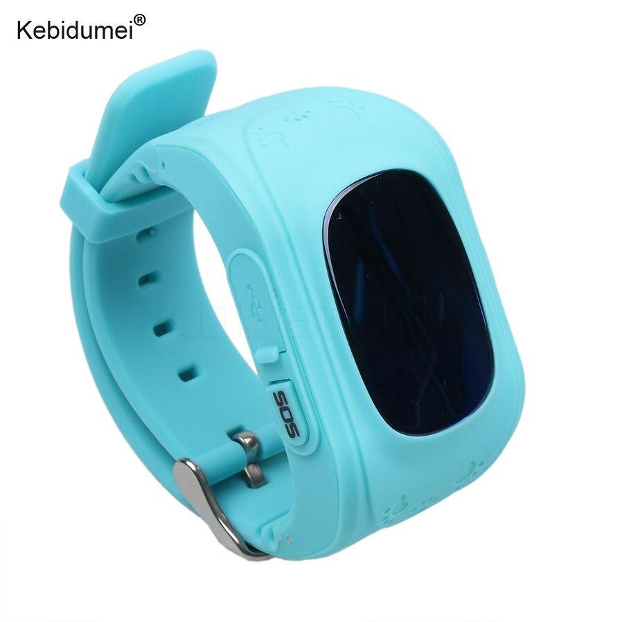 Kebidumei Location-Finder Tracker Watches Smart-Phone Sos-Call Kids Anti-Lost Q50