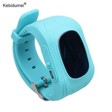 Kebidumei Smart Phone GPS Watch Q50 Kids Watches GPS Tracker SOS Call Location Finder Locator Tracker Anti Lost Smartwatch(China)