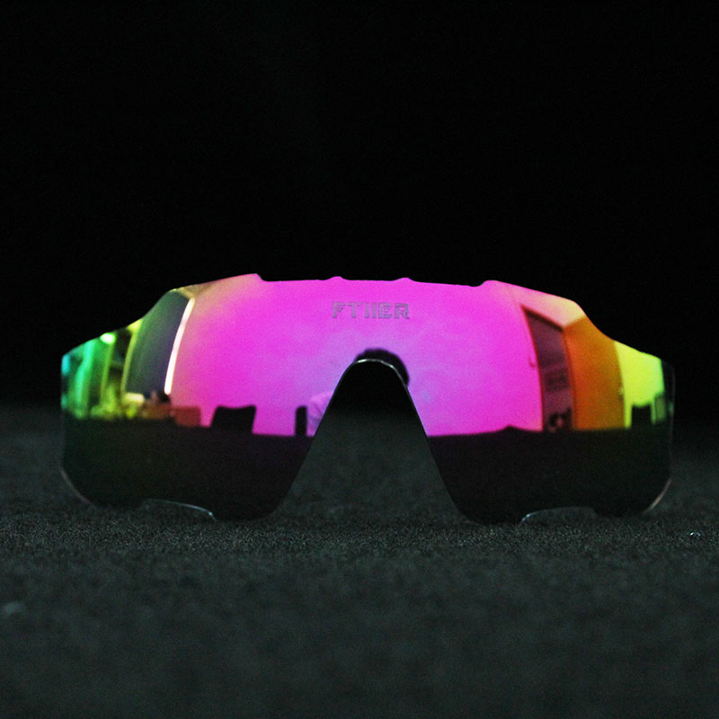 Full red blue green Polarized or Photochromic Replacement Lenses Cycling Glasses Eyewear Sport Bicycle - Not include frame