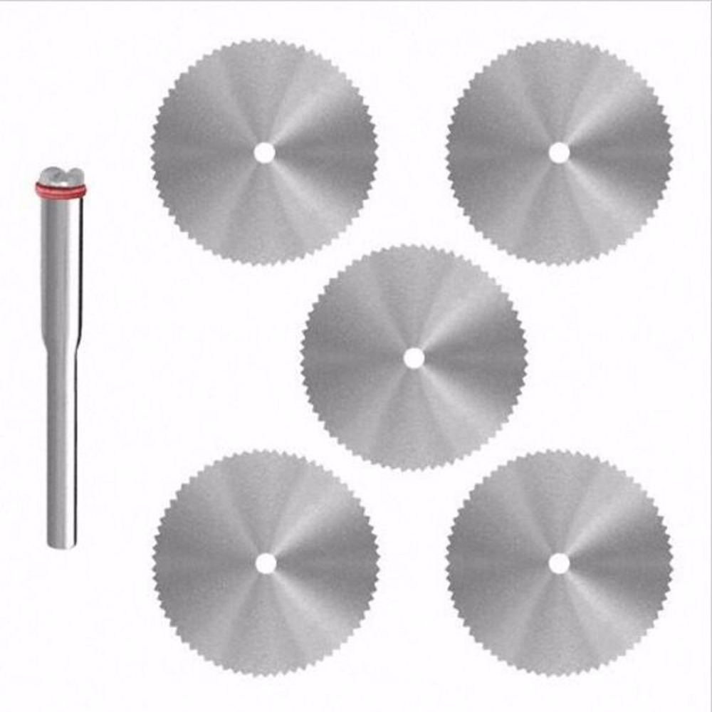 SPTA 10Pc dremel mini circular saw disc abrasive hss blade tool cutting wheel wood carving tools rotary cut off tool woodworking зимняя шина kumho kw31 225 55 r17 101t