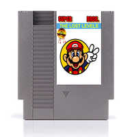 Super M Bros Lost Levels 8 Bit Game Card for 72 Pins Game Consoles