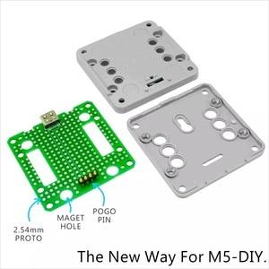 Image 4 - M5Stackใหม่PSRAM 2.0! FIRE IoT Kit Dual Core ESP32 16M FLash + 4M PSRAM Development Board MIC/BLE SH200Q + BMM150ของMicropython