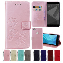 все цены на Leather Case For Xiaomi Redmi Note 5A Cases for Redmi Note 5A Pro Cover Flower Design Phone Case for Xiaomi Redmi Note 5A Prime онлайн
