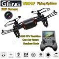 El envío gratuito! T901F w/Cámara de 2MP HD FPV Quadcopter 4CH 6 Axis Gyro 5.8 GHZ RC Mini Drone