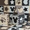 10PCS Cartoon EVA Puzzle Mat Floor Puzzle Mats Baby Developing Rugs Children Jigsaw Puzzle Mats Nonslip Foam Floor Mat PX56