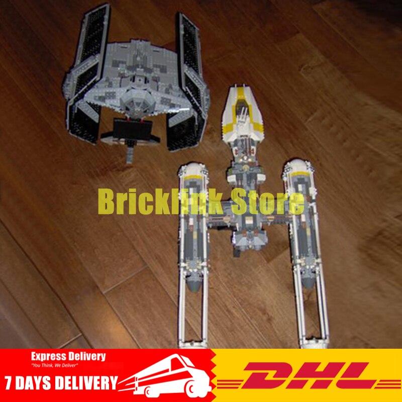 DHL Lepin Star War Series 05040+05055 Educational Building Blocks Bricks Model Toys For Children Birthday Gift Clone 10134 10175