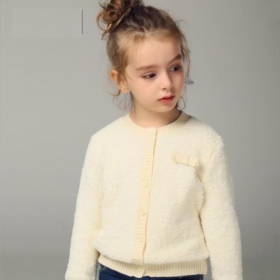 Moda bebê camisola crianças camisola primavera, Outono Cardigan camisola Abrigos Vetement Enfant bebe Fille