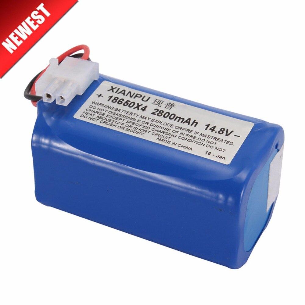Haute qualité Rechargeable ILIFE ecovacs Batterie 14.8 V 2800 mAh robotique aspirateur accessoires pièces pour Chuwi ilife V7s