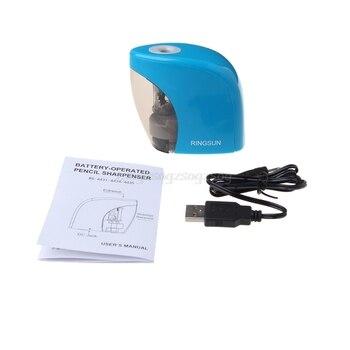 Auto eléctrico sacapuntas batería/USB Powered para grafito lápices ...