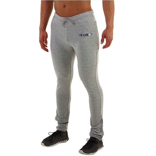 b6091cc56813b Golds Gym Clothing Mens Skinny Joggers Fitness Running Sports Trousers Men  Gymshark Bodybuilding Sweatpants Casual Pants