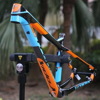 Tropix Carbon Mountain Bike Frame 27.5er 142mm*12mm thru axle bicycle frame T800 carbon fibre 15 17inch bb90 650B MTB xc 2019new 1