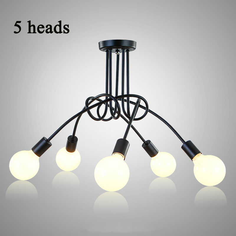 Vintage ceiling lights modern light fixtures led lamps home lighting vintage ceiling lights modern light fixtures led lamps home lighting metal lampshade industrial edison e27 holder 35 heads lamp in ceiling lights from aloadofball Choice Image