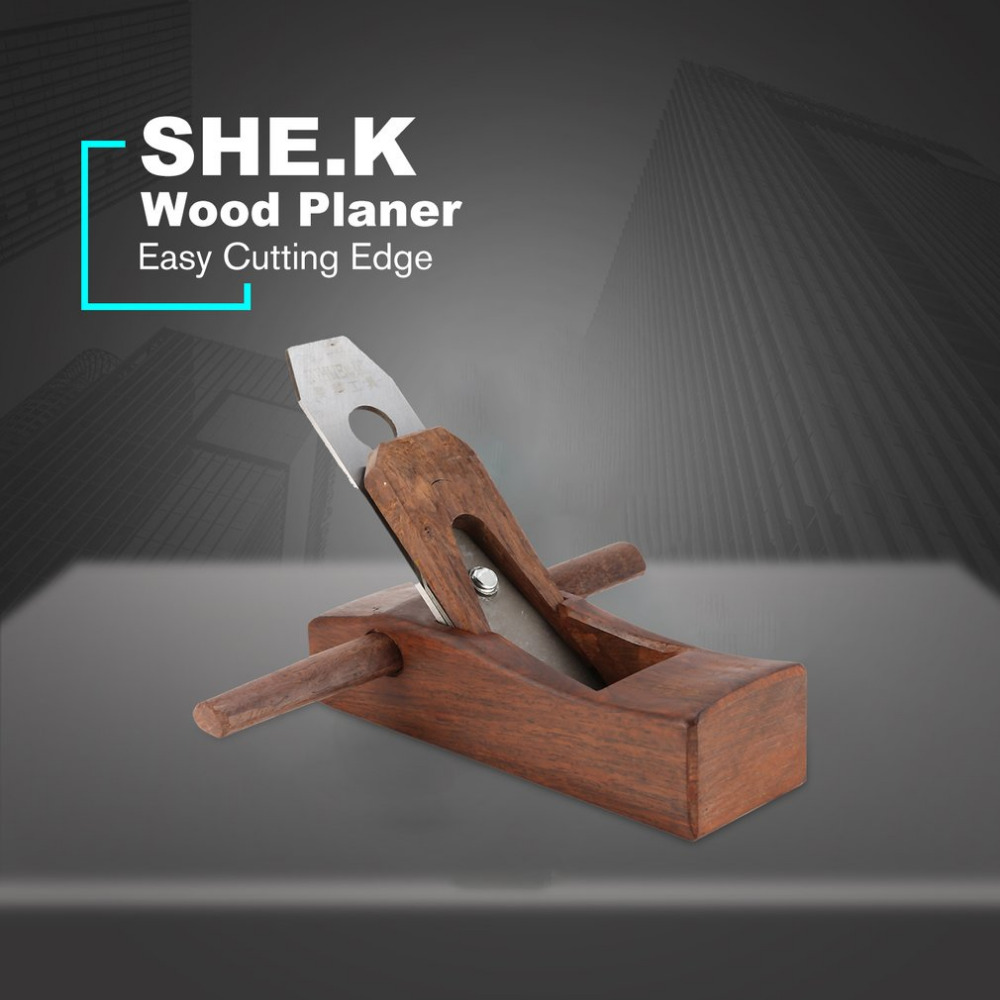SHE.K Mini Hand Planer Wood Planer Easy Cutting Edge For Carpenter Sharpening Woodworking Tools Hard wood Hand Tools