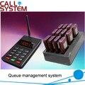 K-p801 sem fio sistema de paginação de hóspedes restaurante sistema de chamada w 12 pcs receptor Pager frete grátis DHL