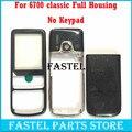 Para nokia 6700 6700c 6700 classic alta qualidade new completa telefone móvel completo caso tampa da caixa (sem Teclado) + ferramentas