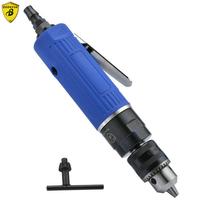 Borntun 1.5 10mm Low Speed Pneumatic Air Drill Bore Gun Pneumatic Drills Bores Tool Air Drilling Boring Woodworking Metalworking