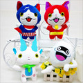 Kawaii Youkai Watch Jibanyan Plush Doll 4 Styles Stuffed Anime Toys for Baby Kids Toy Gift 20cm Peluche Cartoon Dolls