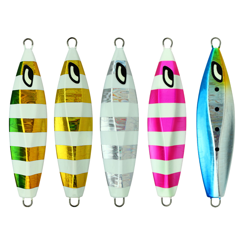 CASTFUN 100g 160g 200g Slow Jigging Lure Japan Design Ocea Stinger Wing Lure Metal Jig in Fishing Lures from Sports Entertainment